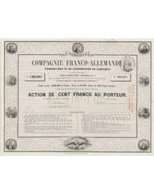 Cie Franco-Allemande d'Emigration et de Colonisation en Amérique (Virginia)