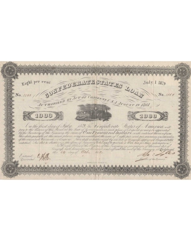 Confederate States of America Loan