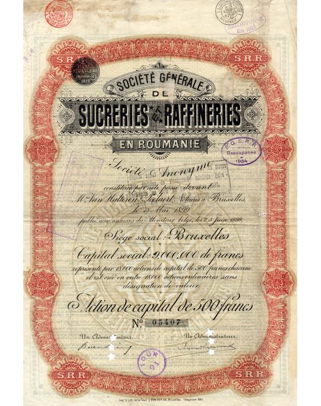 Sté Générale de Sucreries et Raffineries en Roumanie