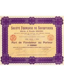 Sté Française de Sucrateries