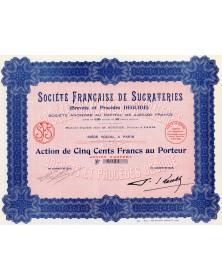 Sté Française de Sucrateries (Brevets et Procédés Deguide)