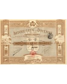 Ardoisières du Doyenné à Angers