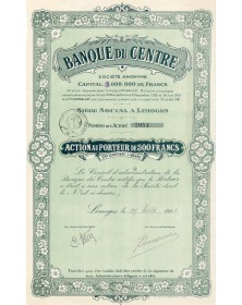 Banque du Centre