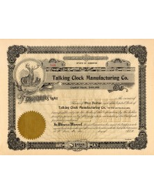 Talking Clock Manufacturing Co.