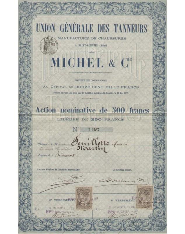 Union Générale des Tanneurs MICHEL & Cie