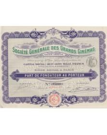 Sté Générale des Grands Cinémas