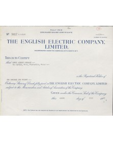 The English Electric Company Ltd.