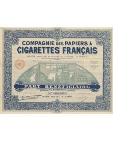 Cie des Papiers à Cigarettes Français