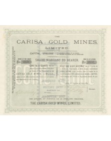 The Carisa Gold Mines,Ltd.(Utah)