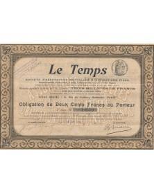 Le Temps (Insurance)