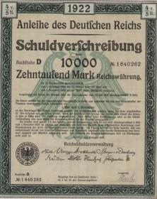 Anleihe des Deutschen Reichs