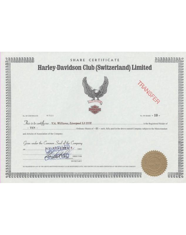 Harley-Davidson Club (Switzerland) Limited