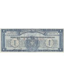 ΒΑΣΙΛΕΙΟΝ ΤΗΣ ΕΛΛΑΔΟΣ - Kingdom of Greece - 6.5% Loan 1922