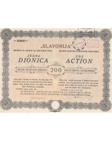 SLAVONIJA S.A. d'Industrie Forestière (Wood industry)