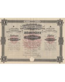 Sté du Crédit Foncier du Royaume de Hongrie