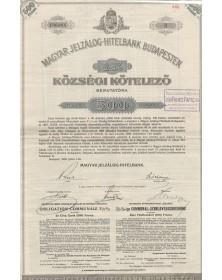 Sté de Crédit Foncier du Royaume de Hongrie à Budapest
