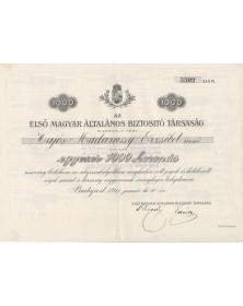 Première Compagnie d'Assurance Générale Hongroise