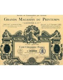 Grands Magasins du Printemps ''Laguionie & Cie''. 1925