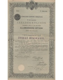 Royal Hungary Bonds