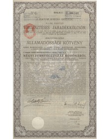 Royal Hungary Bonds