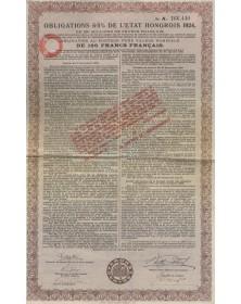 Royaume de Hongrie - 6% Bond 1925
