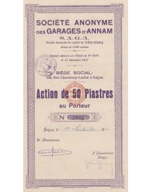 Sté des Garages d'Annam