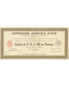 Compagnie Agricole d'Asie