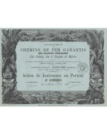 Cie des Chemins de Fer Garantis