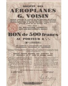 Sté des Aéroplanes G. Voisin