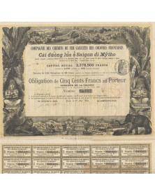 Cie des Chemins de Fer Garantis des Colonies Françaises