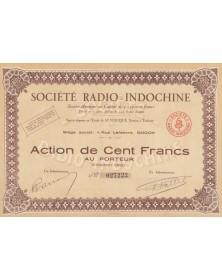 Sté Radio Indochine