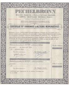 Pechelbronn, S.A. d'Exploitations Minières