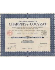 Ets Chappuis et Couvrat