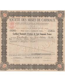 Sté des Mines de Carmaux