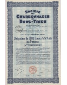 Sté des Charbonnages du Dong-Trieu