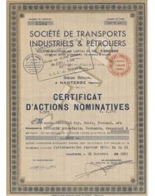 Sté de Transports Industriels & Pétroliers