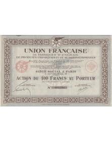 Union Française de Fabriques d'Engrais de Produits Chimiques et de Superphosphates