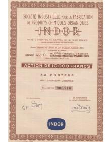 Sté Industrielle pour la Fabrication de Produits Chimiques Organiques INDOR
