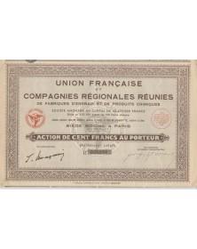 Cies Régionales de Fabriques d'Engrais & de Produits Chimiques