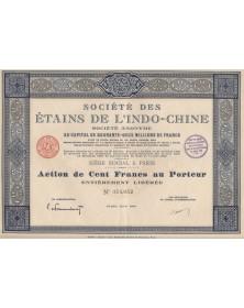 Sté des Etains de l'Indo-Chine