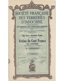 Sté Française des Verreries d'Indochine
