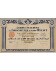 Sté Française du Carbonalpha & ses Dérivés