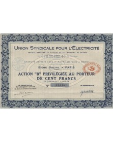 Union Syndicale pour l'Electricité