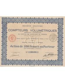 S.A. des Compteurs Volumétriques (Brevet Letreux)