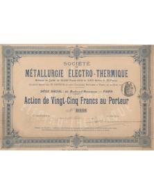 Sté de Métallurgie Electro-Thermique