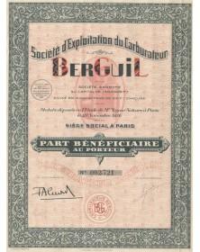 Sté d'Exploitation du Carburateur Berguil