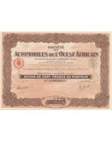 Sté des Automobiles de l'Ouest Africain