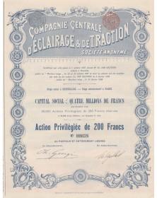 Cie Centrale d'Eclairage & de Traction