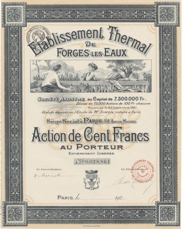 Etablissement Thermal de Forges-Les-Eaux