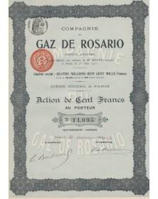 Cie du Gaz de Rosario